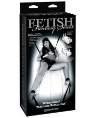 Fetish Fantasy Limited Edition Wraparound Mattress Restraints Bondage Kit-sex toys-Fetish Fantasy Limited Edition-black-Nakees