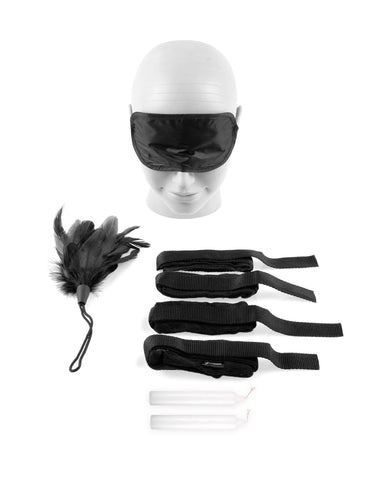 Fetish Fantasy Series Beginner's Bondage Set-sex toys-Fetish Fantasy Series-black-Nakees