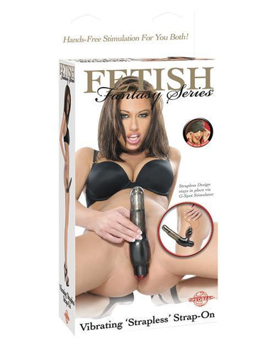 Fetish Fantasy Series Vibrating 'Strapless' Strap-On-dildo-Fetish Fantasy Series-Nakees
