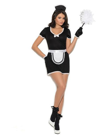 Flirty Maid Costume-costumes-Elegant Moments-small-black-Nakees