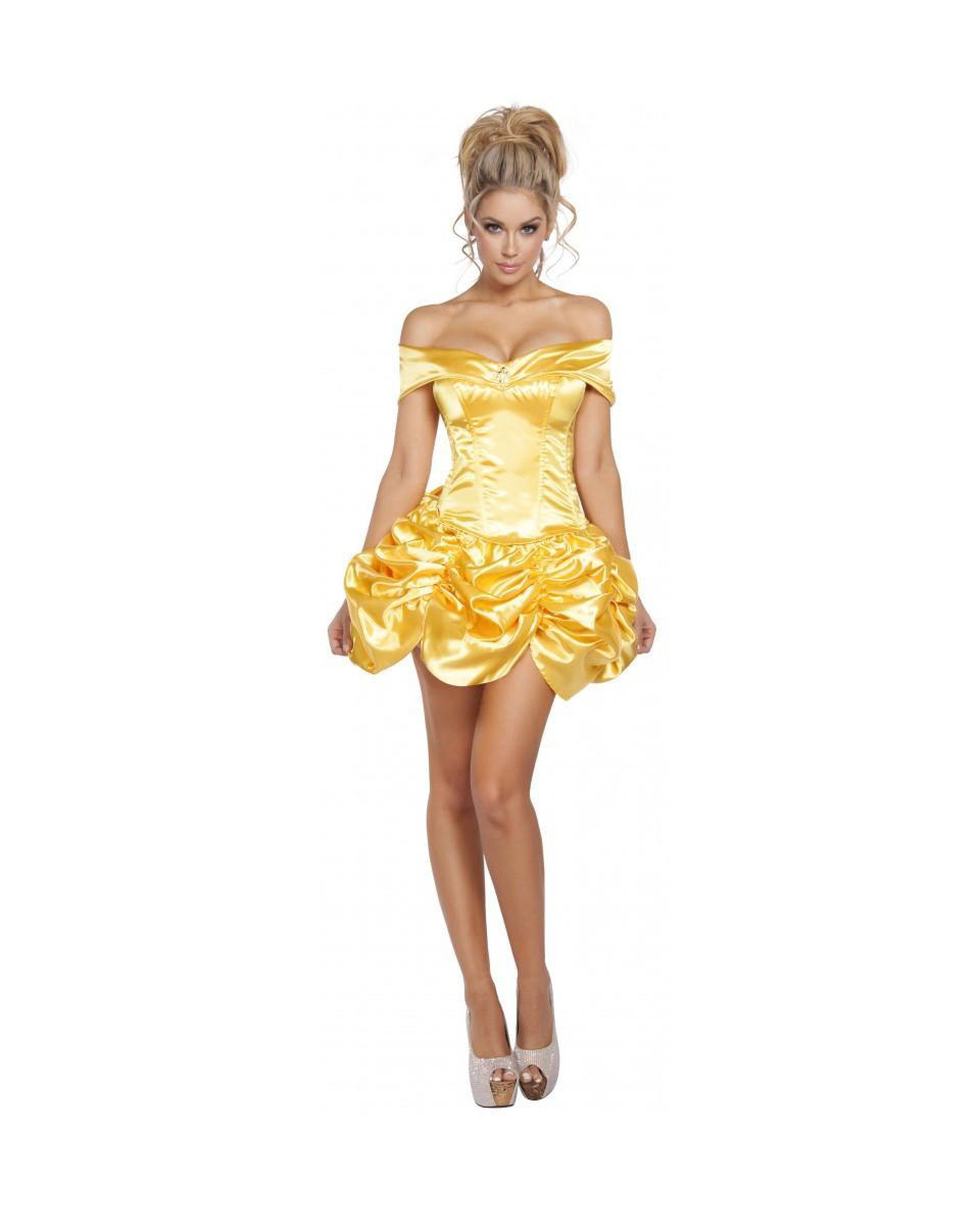 Foxy Fairytale Cutie costumes Color GoldSize SmallNakees