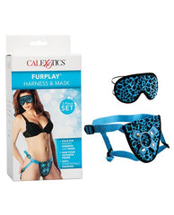 Furplay Harness & Mask-dildo-No Brand-blue-Nakees