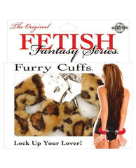Furry Handcuffs-sex toys-Pipedream-cheetah-Nakees