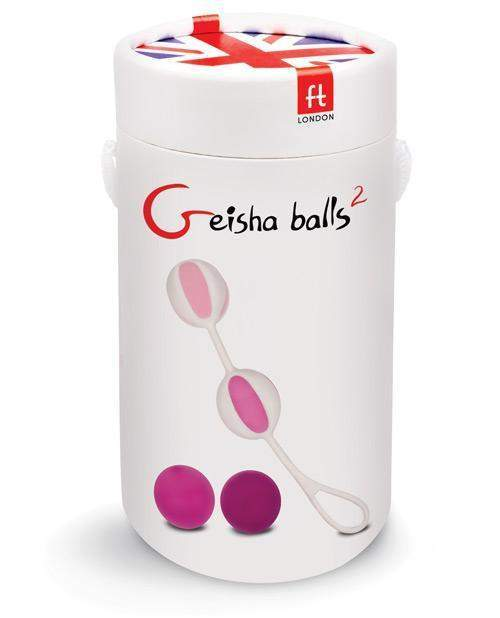 Geisha Balls 2 Kegel Trainers sex toys color pinkNakees