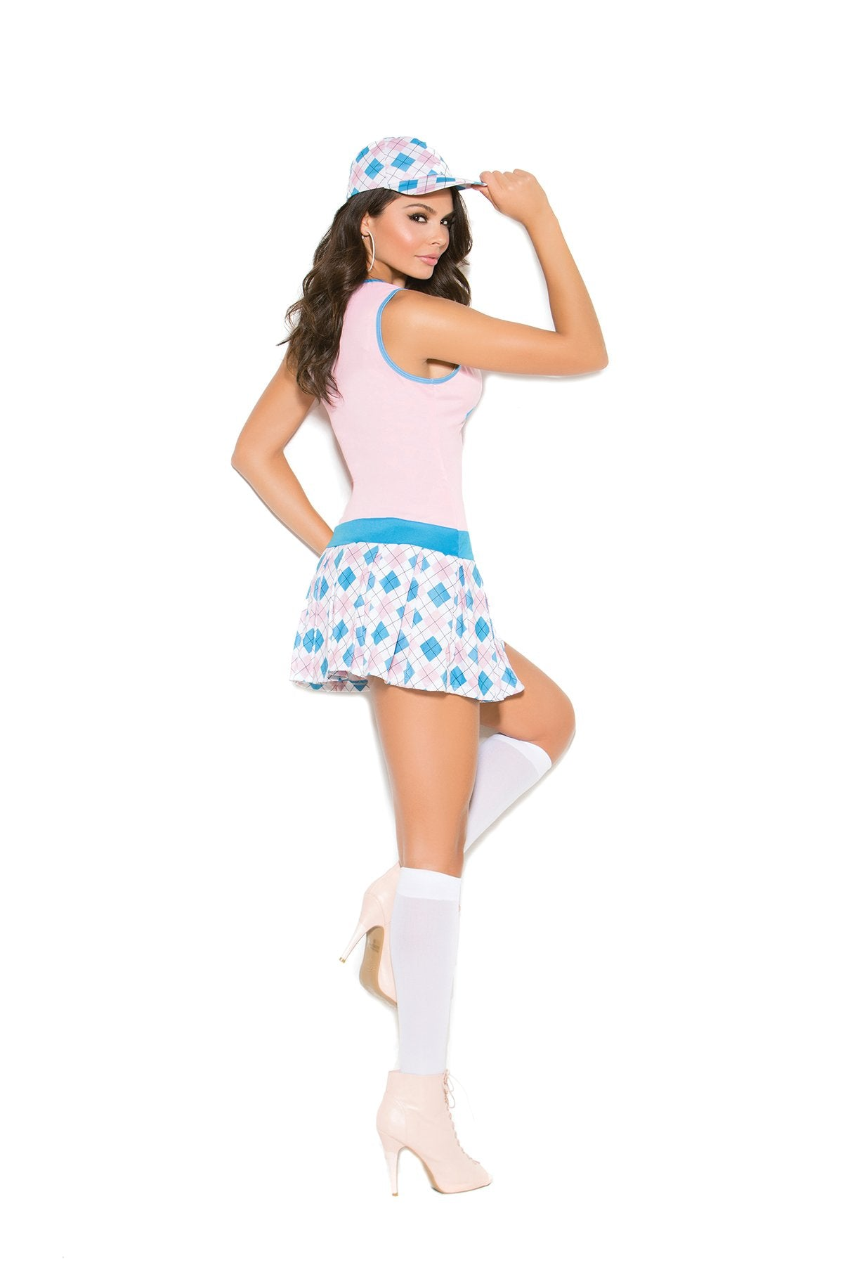 Golf Tease Costume-costumes-Elegant Moments-1X/2X-pink-Nakees