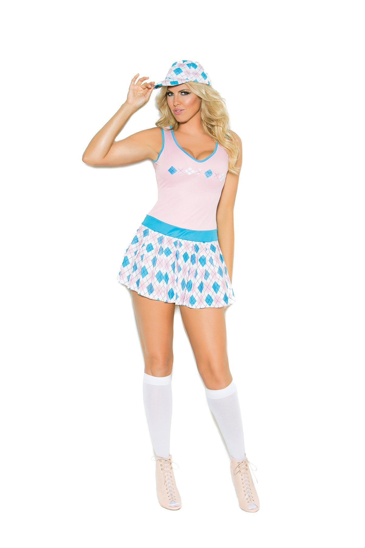 Golf Tease Costume costumes size mediumcolor pinkNakees