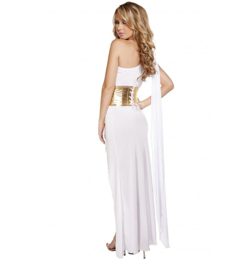 Grecian Babe costumes Color White/GoldSize S/MNakees
