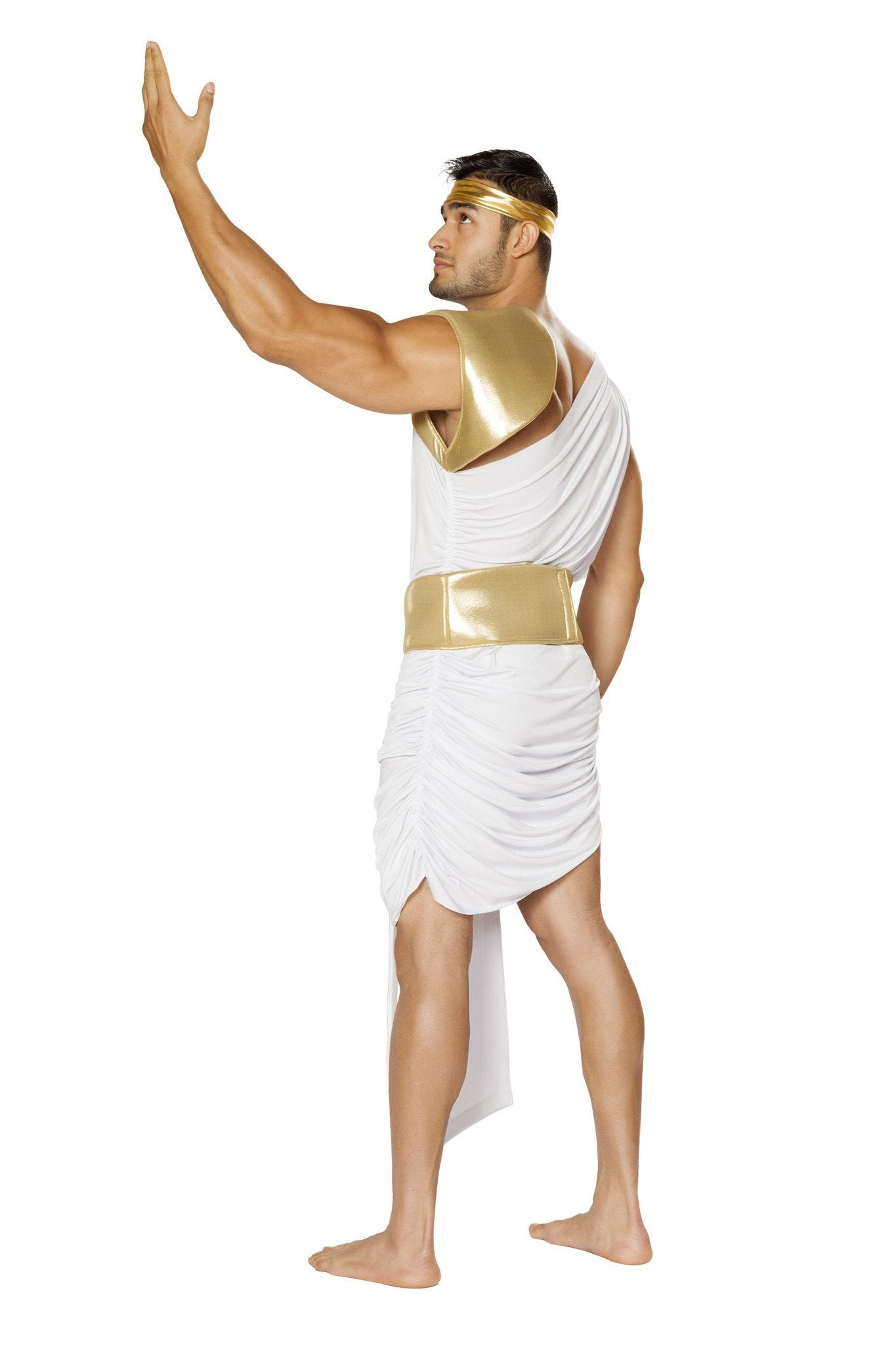 Greek God costumes Size L/XLColor White/GoldNakees