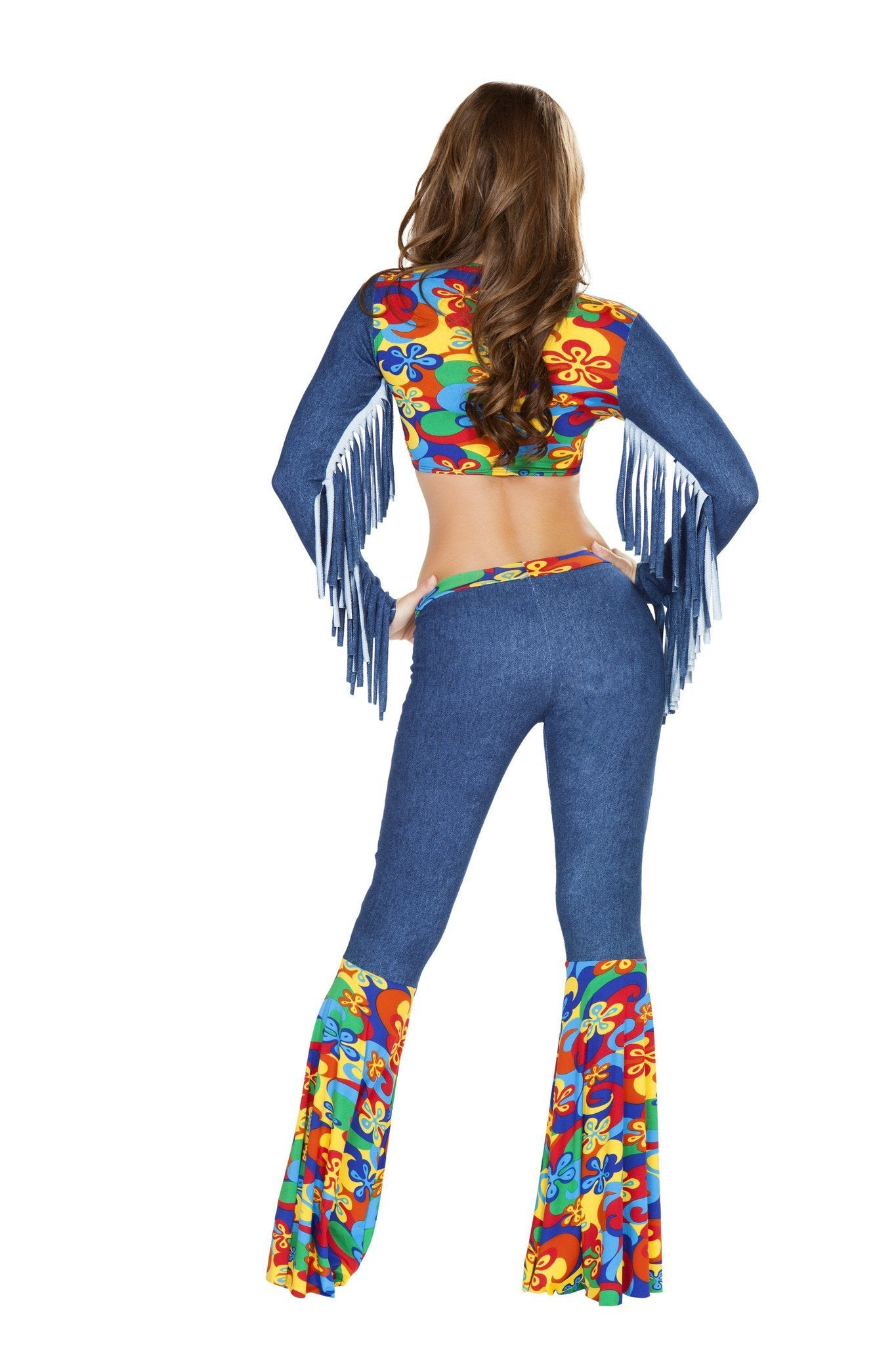 Groovy Love Child costumes Size LargeColor Blue/MultiNakees