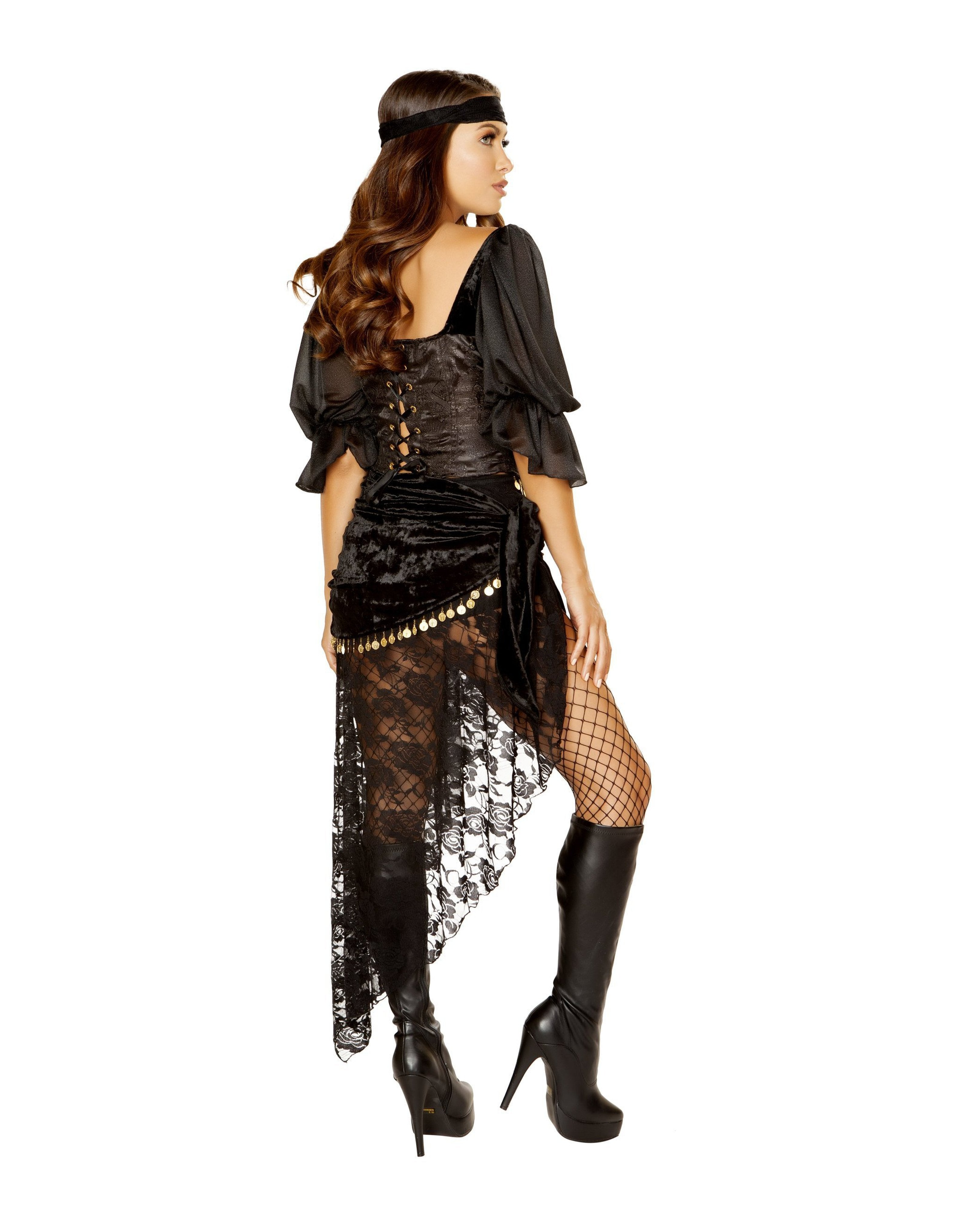 Gypsy Maiden costumes Size SmallColor BlackNakees