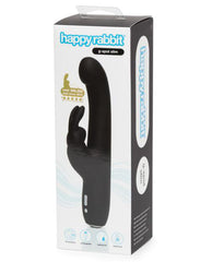 Happy Rabbit Slimline G Spot rabbit vibrator color blackNakees