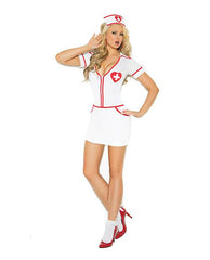 Heart Throb Hottie Nurse Costume-costumes-Elegant Moments-small-red/white-Nakees