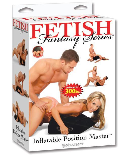 Inflatable Position Master couples color blackNakees