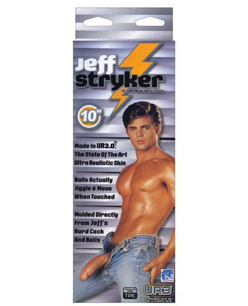 Jeff Stryker Cock sex toys color flesh  Nakees