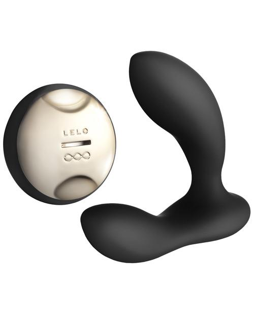 LELO HUGO Prostate Massager-sex toys-Lelo-Black-rechargeable-Nakees