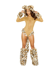 Leopard Princess Romper Costume-costumes-Roma Costume-Small-Honey-Nakees