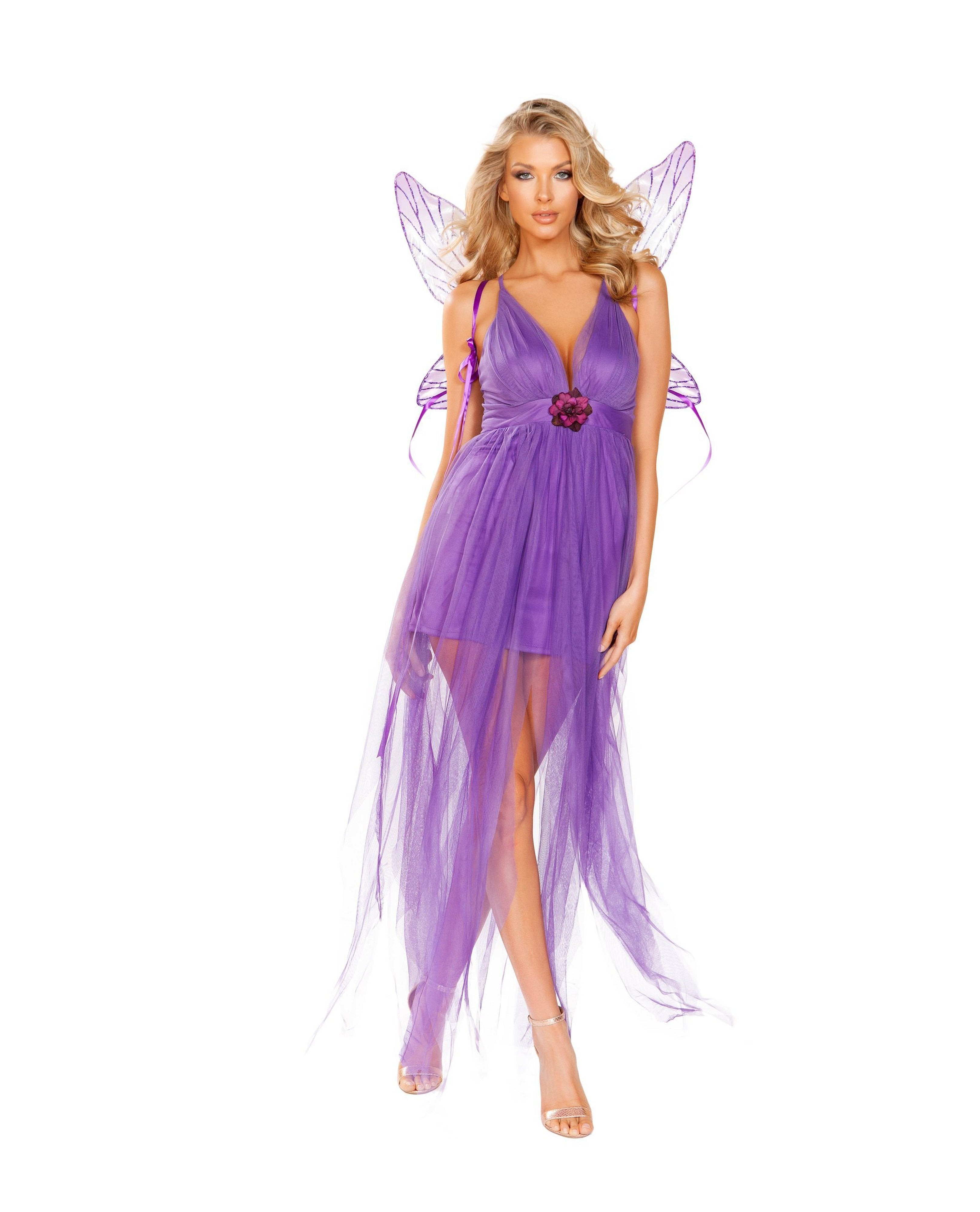Lilac Fairy Sexy Costume costumes Size SmallColor PurpleNakees
