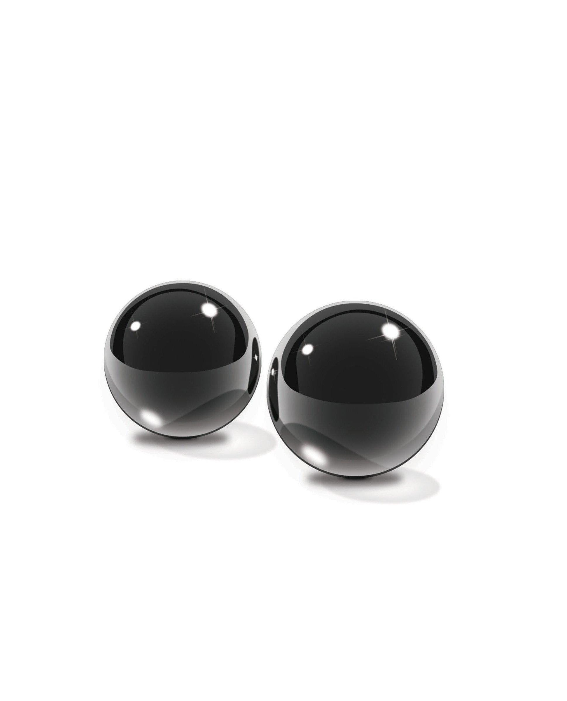 Limited Edition Black Glass Ben-Wa Balls women color blackNakees