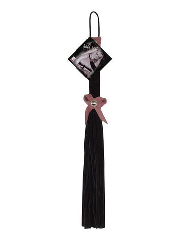 Love Knot Flogger sex toys color black  Nakees