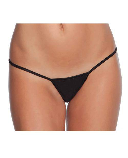 Low Rise Lycra G-String women size one sizecolor blackNakees