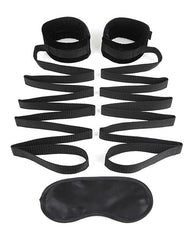 Lux Fetish Bondage Bed Strap Restraint System-sex toys-Lux-2 piece set-Nakees