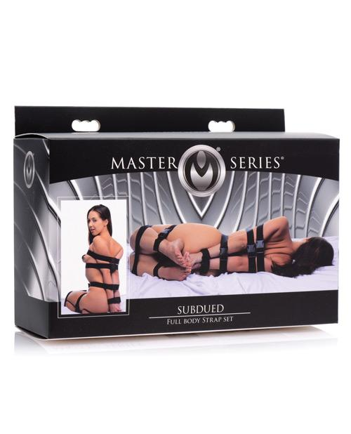 Master Series Subdued Full Body Strap Bondage Set-sex toys-Master Series-Nakees