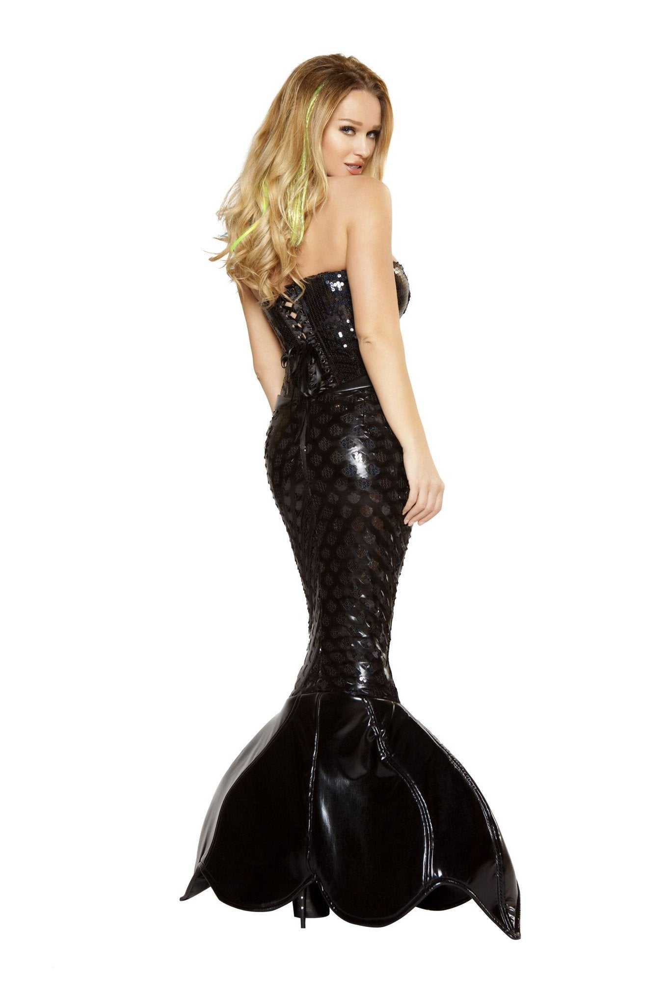 Mermaid Mistress costumes Color BlackSize SmallNakees