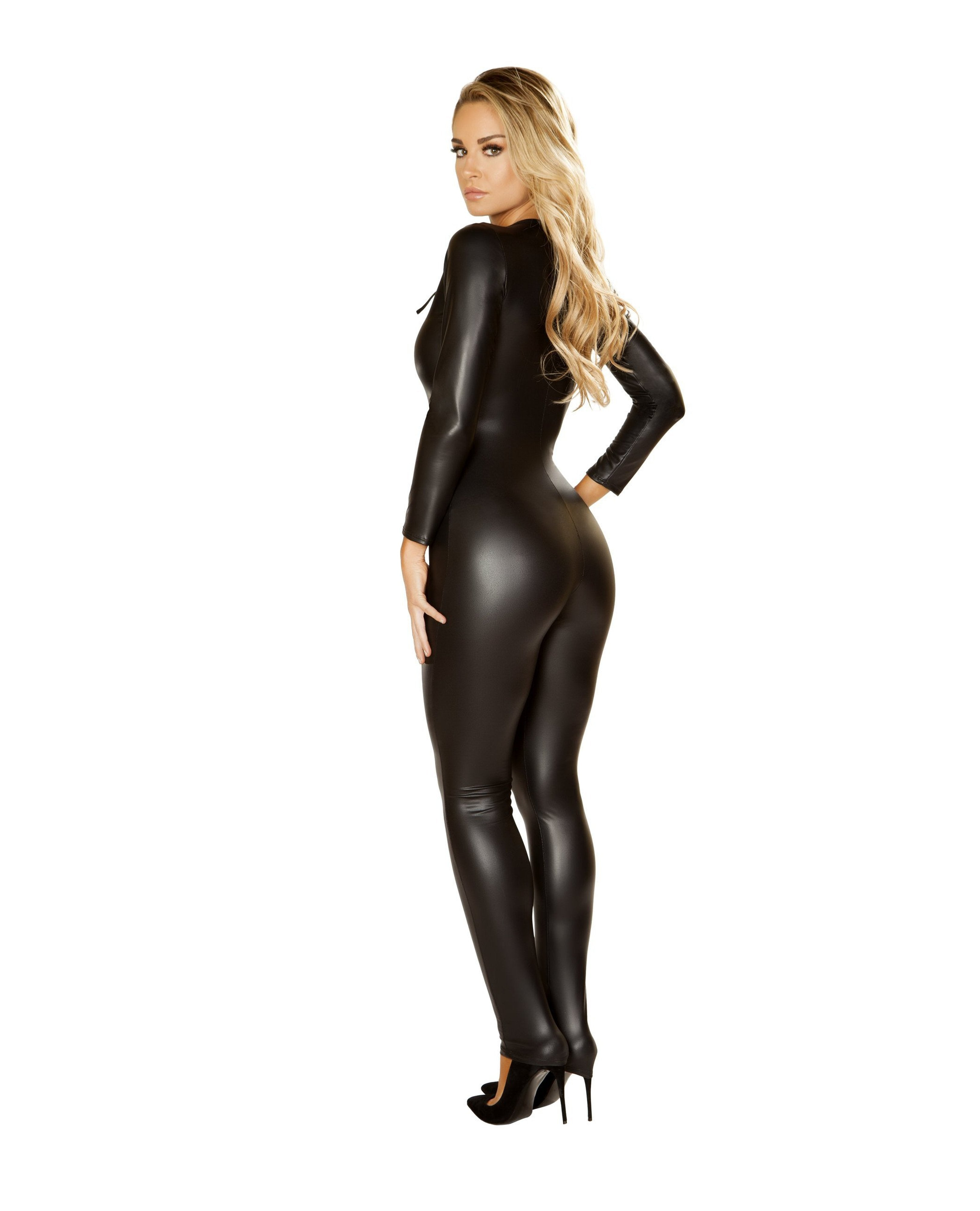 Multi Purpose Catsuit costumes Size SmallColor BlackNakees