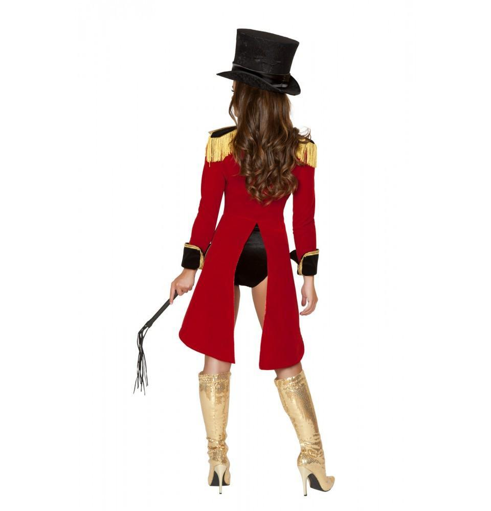 Naughty Ringleader Costume costumes Color As ShownSize SmallNakees