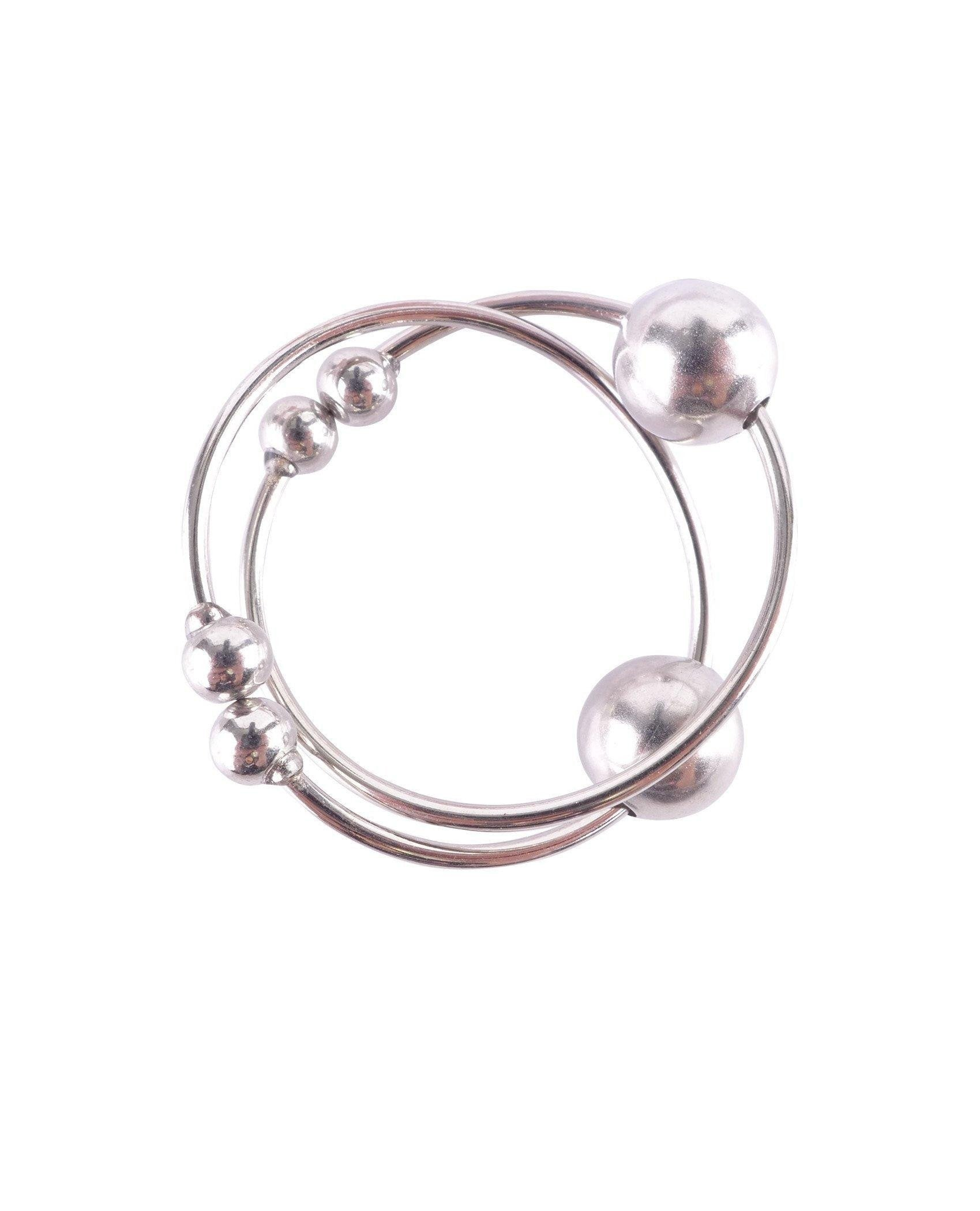 Nipple Bull Rings women color silver  Nakees
