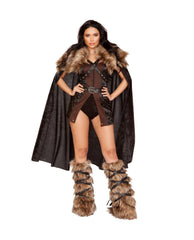 Northern Warrior costumes Size SmallColor Black/BrownNakees