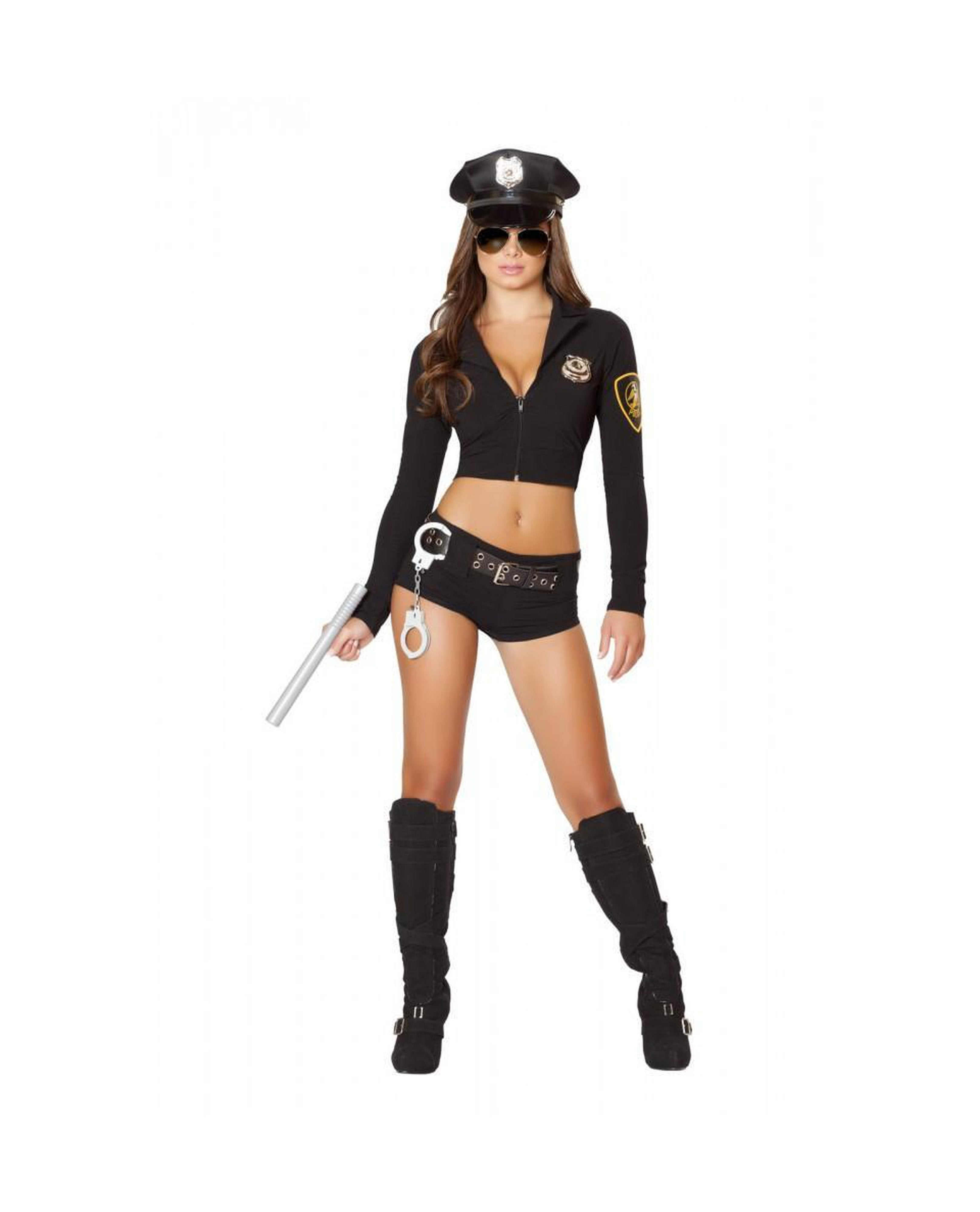 Officer Hottie Costume costumes Color BlackSize S/MNakees