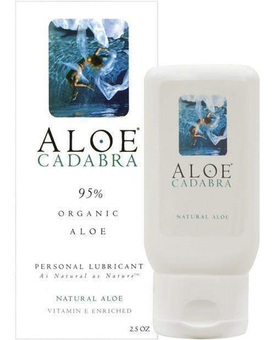 Organic Personal Lubricant with Aloe-essentials-Aloe Cadabra-2.5 ounces-Nakees