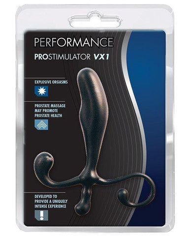 Performance ProStimulator VX1 Prostate Massager sex toys color black  Nakees