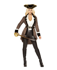 Pirate Booty Diva-costumes-Roma Costume-Small-Brown-Nakees