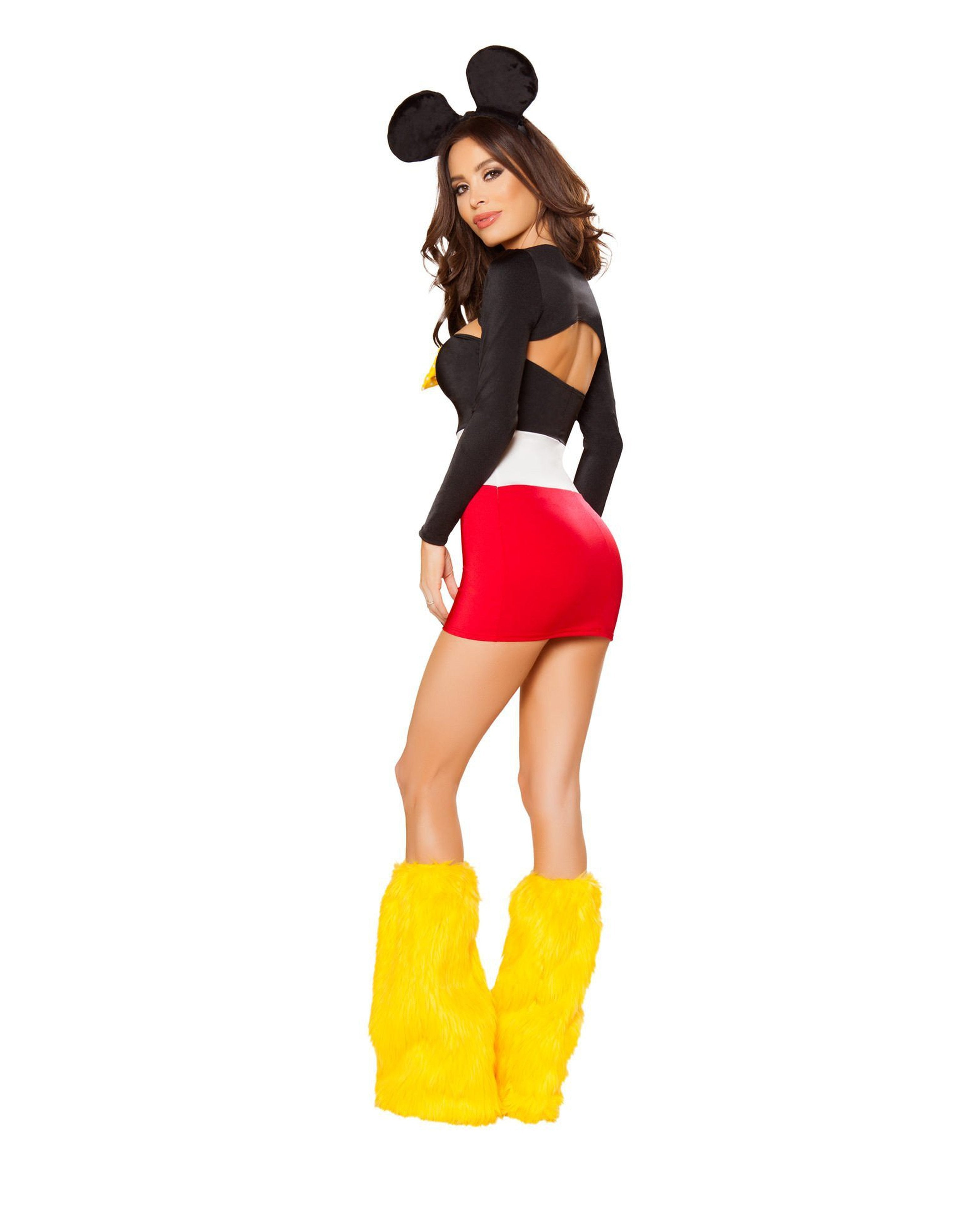 Playful Mouse costumes Size SmallColor Red/Black/WhiteNakees