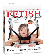 Position Master with Cuffs-couples-Pipedream-black-Nakees