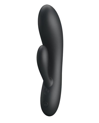Pretty Love Matt Rabbit Vibrator-rabbit vibrator-Liaoyang Baile Health Care Product Co., Ltd-black-Nakees