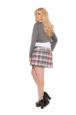 Queen of Detention Naughty School Girl Outfit-costumes-Elegant Moments-Nakees
