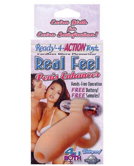 Ready-4-Action Real Feel Penis Enhancer couples color fleshNakees
