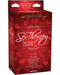 Sex Therapy Kit for Lovers couples color red/blackNakees