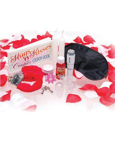 Sex Therapy Kit for Lovers-couples-Pipedream-red/black-Nakees