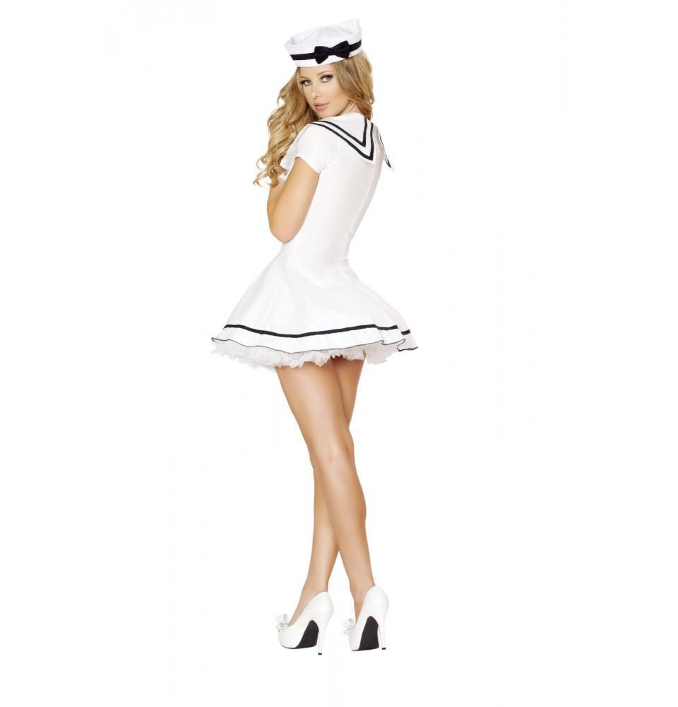 Sexy Sailor Maiden Costume costumes Color As ShownSize XXLNakees