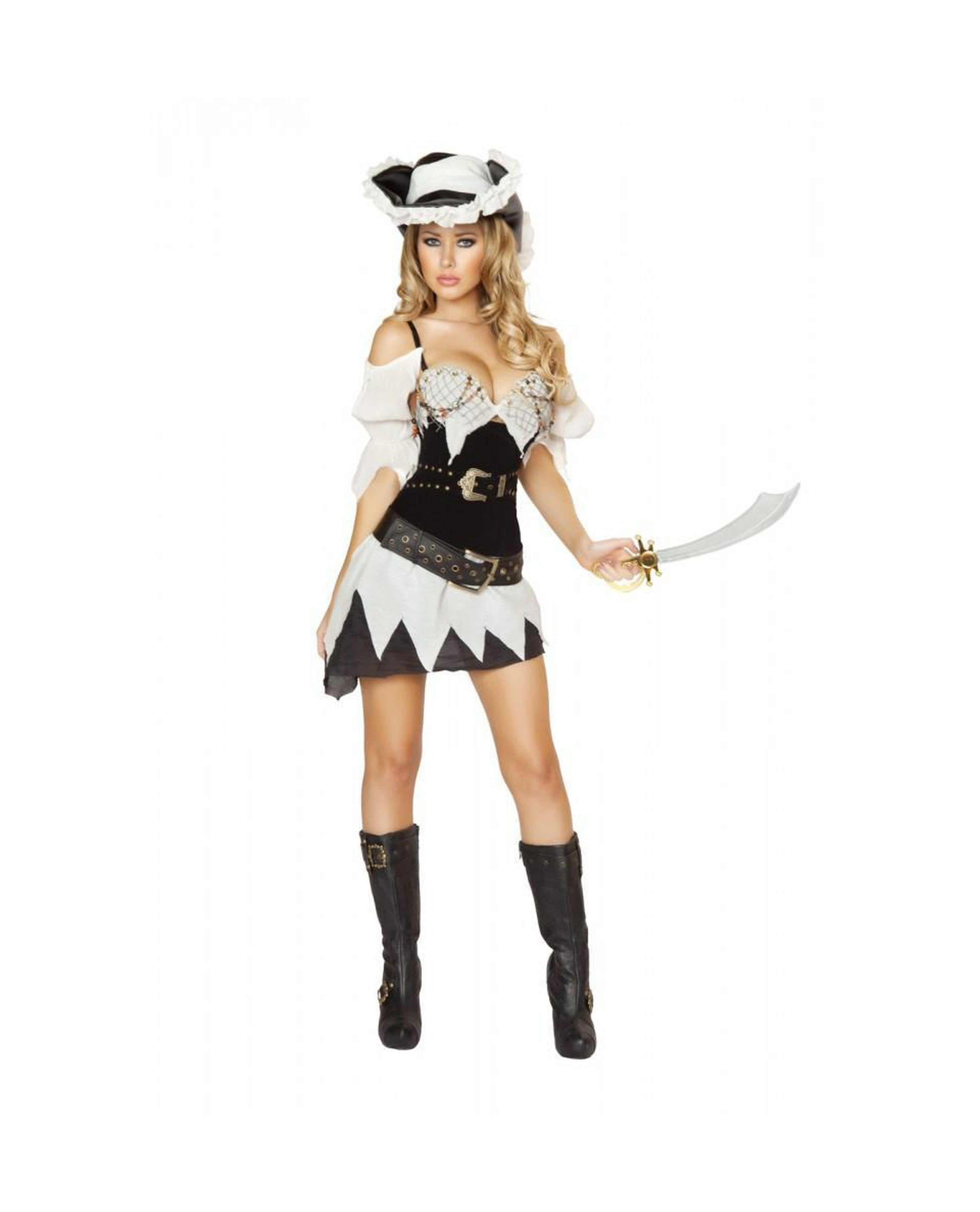 Sexy Shipwrecked Sailor Costume costumes Color As ShownSize LargeNakees