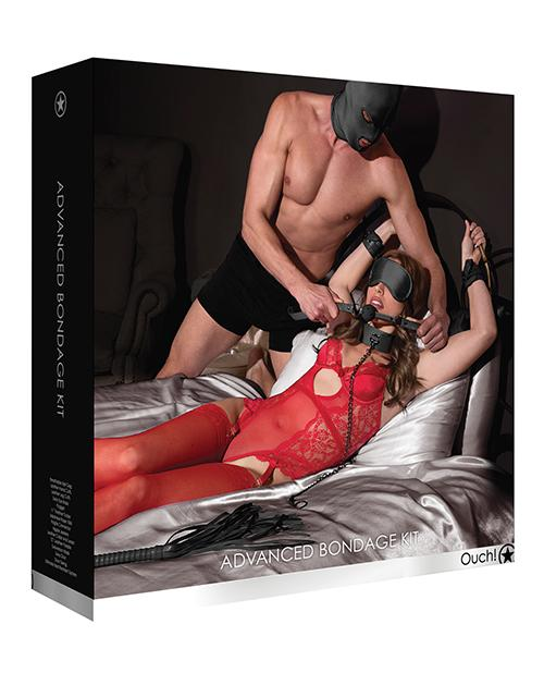 Shots Advanced Bondage Kit-sex toys-Ouch-black-Nakees