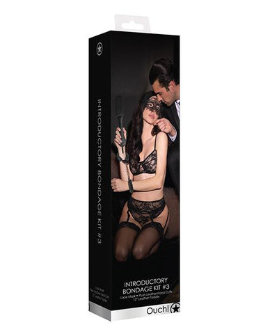 Shots Ouch Introductory Bondage Kit #3-sex toys-Ouch-black-Nakees