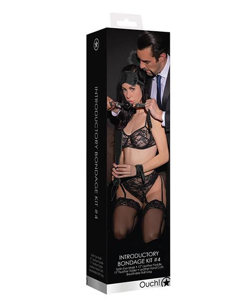 Shots Ouch Introductory Bondage Kit #4-sex toys-Ouch-black-Nakees