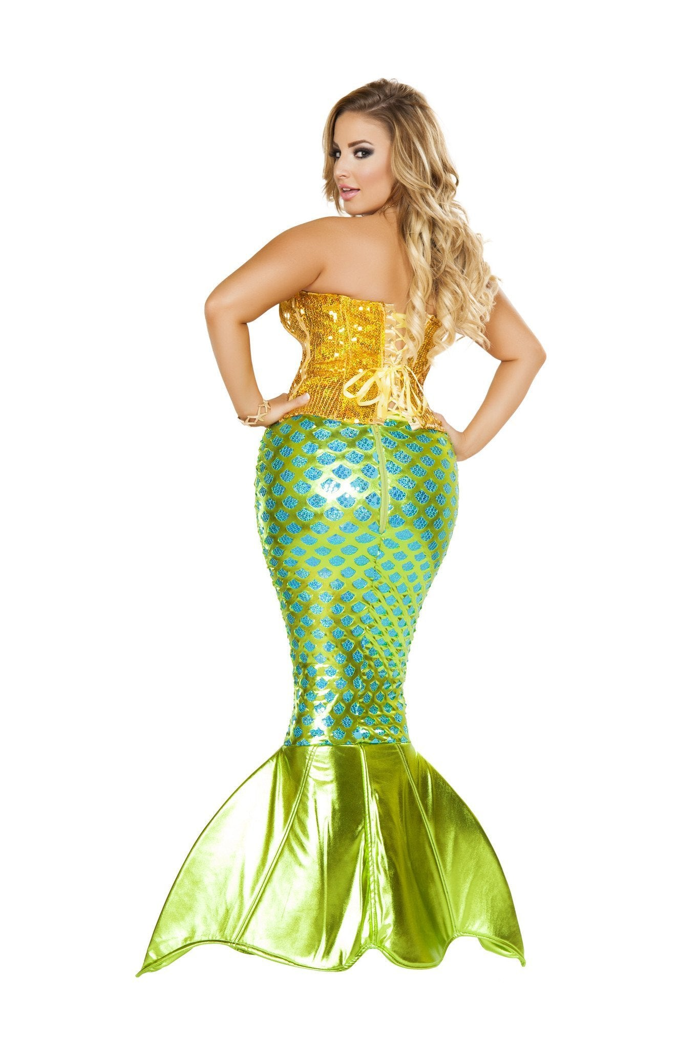 Siren of the Sea costumes Color As ShownSize SmallNakees