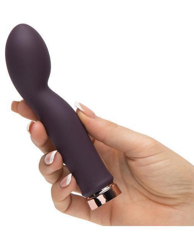 So Exquisite Rechargeable G-Spot Vibrator sex toys color purple  Nakees