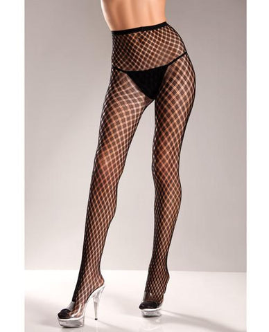 Spandex Pantyhose with Weave Design-lingerie-Be Wicked-Nakees